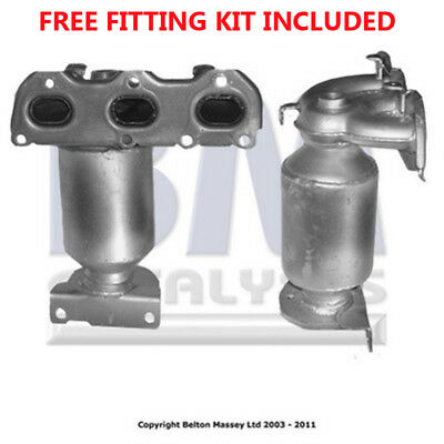 Fit with SEAT IBIZA Catalytic Converter Exhaust 91323H 1.2 (Fitting Kit Included