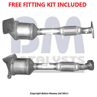 Fit with FORD FOCUS Catalytic Converter Exhaust 80111H 1.8 (Fitting Kit Included