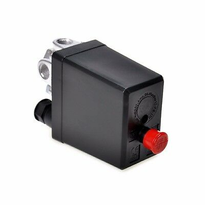 Heavy Duty Air Compressor Switch Control Pump Pressure Valve Solid 90-120PSI