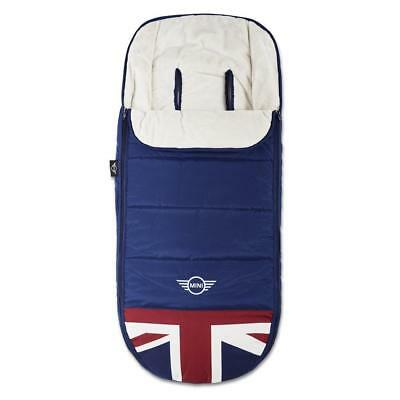 Easywalker MINI Footmuff (Union Jack Classic) Soft Polar Fleece - RRP £85.00