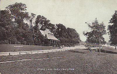 Old P/c  Spinney Hill Park, Leicester, Leicestershire, 1905