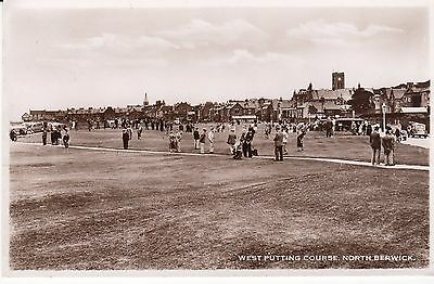 Rp  P/c  West Putting Course, North Berwick, East Lothian 1942