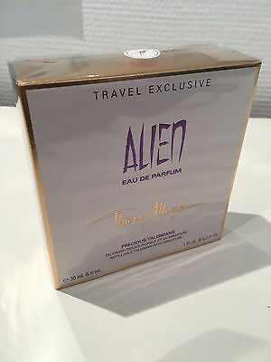 Thierry Mugler Alien 30ml EDP Spray nachfüllbar + 6ml EDP Miniatur im Set