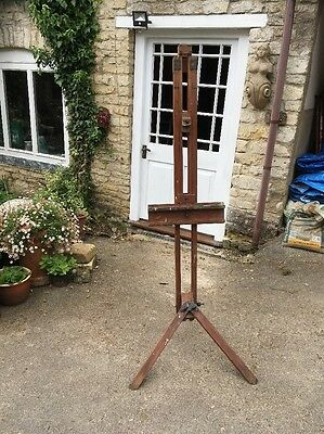 Antique Winsor & Newton Metamorphic Folding Artists Picture Studio Easel Stand