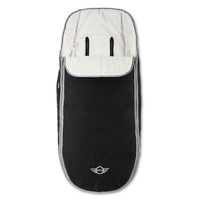 Easywalker MINI Footmuff (Special Edition Black) Soft Polar Fleece - RRP £89.00