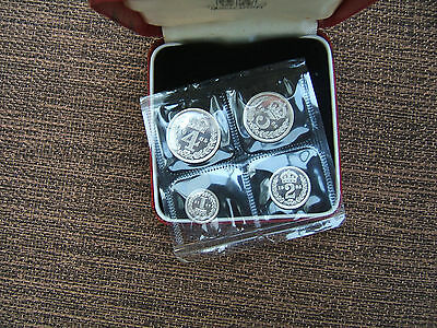 1985 Silver Maundy Money Set..... Ripon..