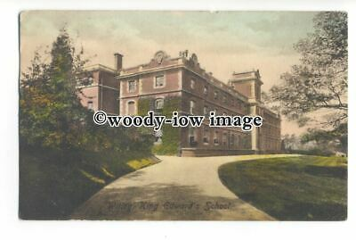 tq1509 - Surrey - Early View of King Edward's School, in Witley - Postcard