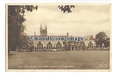 tq1522 - Surrey - The Whitgift Middle School c1950s, in Croydon - Postcard