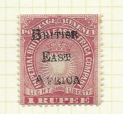 Kenya, Uganda and Tanganyika 189 5 British East Africa 1 rupee carmine mint