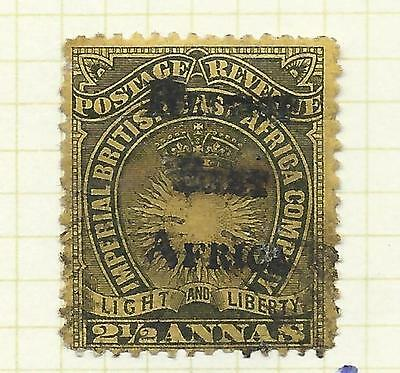 Kenya, Uganda and Tanganyika 189 5 British East Africa 2 1/2 annas used