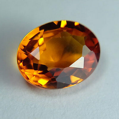 1.50ct.AWESOME VIVID PADPARADSCHA SAPPHIRE OVAL GEMSTONE