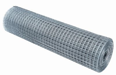 """Wire Mesh 7x7mm Holes 22G 1//4/""""x1//4/"""" inch 4FT 15Meters Galvanised 48/""""High"""