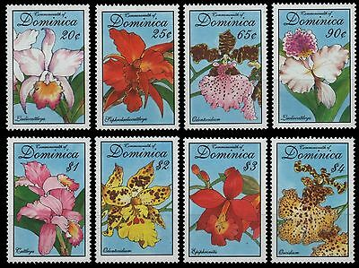 Dominica 1994 - Mi-Nr. 1814-1821 ** - MNH - Orchideen / Orchids