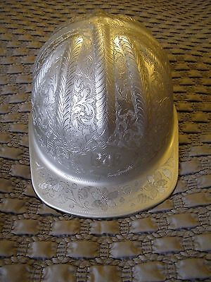 1981 - ENGRAVED McDONALD MINING ALUMINUN HARD HAT.