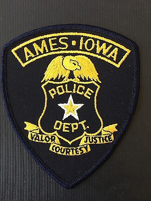 Ames  Iowa  Police  Shoulder Patch