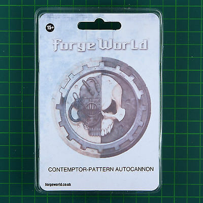 Contemptor Dreadnought Pattern Autocannon Forge World Warhammer 30K