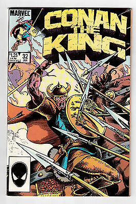 Marvel Comics, Conan The King # 32, 1986 Vf !!