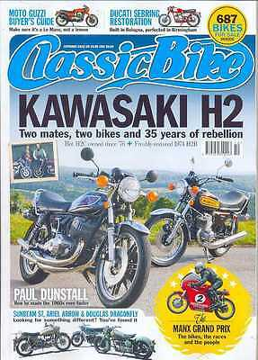 CLASSIC BIKE MAGAZINE-OCTOBER 2012 Issue - (NEW COPY)