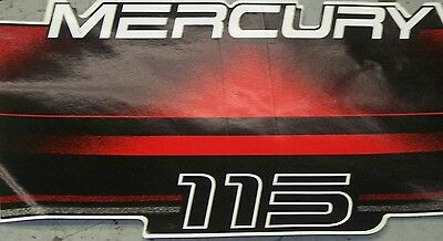 #37-856797-5 DECAL AS SHOWN NEW MERCURY OUTBOARD BLUEWATER SERIES