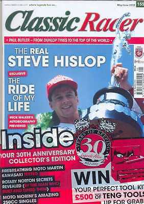 CLASSIC RACER No.155 M/Jun 2012(NEW COPY)*Post included to UK/Europe/USA/Canada