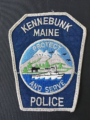 Kennebunk  Maine  Police  Shoulder Patch