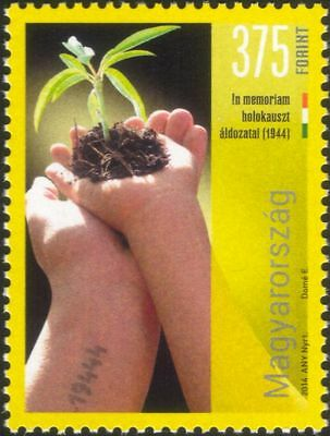 Hungary 2014 Holocaust Victims Remembrance/World War Two/WWII/People 1v (n45537)