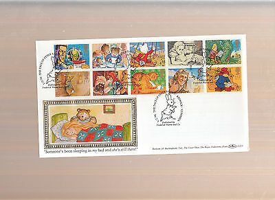 1994  'MESSAGES' GREETINGS Booklet First Day Cover BENHAM D223