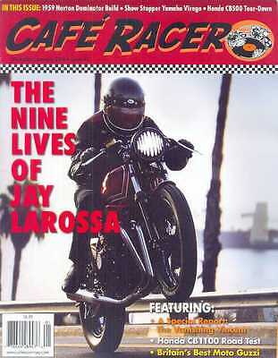 CAFE RACER USA No.42 D-January 2016 (NEW COPY) *Post included to UK/Europe/USA