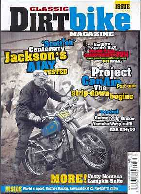 CLASSIC DIRT BIKE-No.19/2011-(NEW COPY) *Post included to UK/Europe/USA/Canada