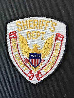 Hinds County  Mississippi  Police  Shoulder Patch