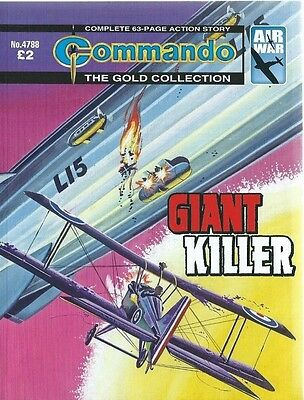 Giant Killer,commando The Gold Collection,no.4788,war Comic,2015