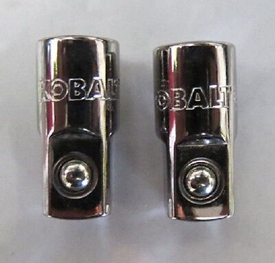 "Kobalt 22903 1/4"" Drive to 3/8"" Adapter 2Pcs  USA"