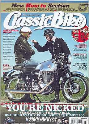 CLASSIC BIKE-JULY 2010 issue (NEW)*Post Included To UK/Europe/USA/Canada