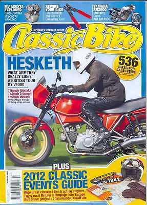CLASSIC BIKE-MARCH 2012- (NEW)*Post Included To UK/Europe/USA/Canada