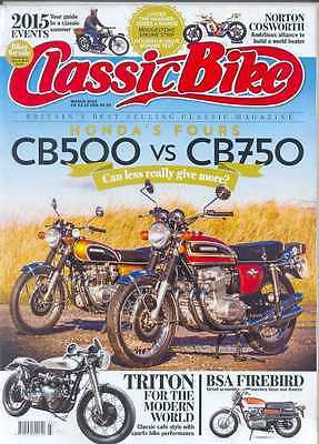 CLASSIC BIKE-March 2015- (NEW)*Post Included To UK/Europe/USA/Canada