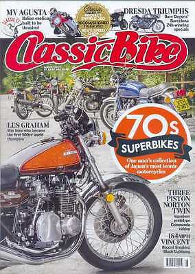 CLASSIC BIKE-August 2015- (NEW)*Post Included To UK/Europe/USA/Canada