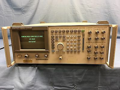 Hp Agilent 8922M GSM Mobile Radio Test Set With Options 001, 006 TESTED