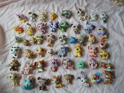 gros lot 50 figurines lps petshops divers LOT 1