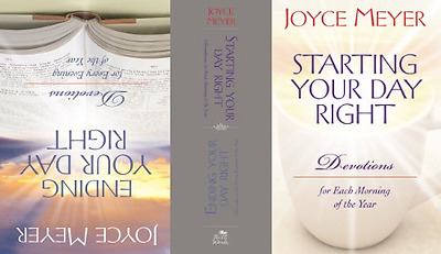 Starting and Ending Your Day Right - Hardcover NEW Meyer, Joyce 2007-11-15