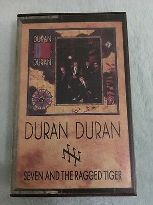 Duran Duran  - Seven And The Ragged Tiger Album Cassette Tape