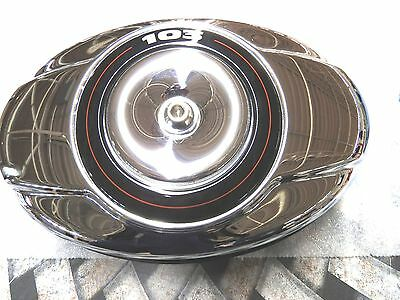 29121-07 Take Off Chrome Air Cleaner Cover Twin Cam Assembly
