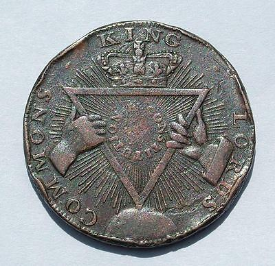 1795 Davidson's Halfpenny Token Sise Lane / Kings Lords Commons - Lot 6