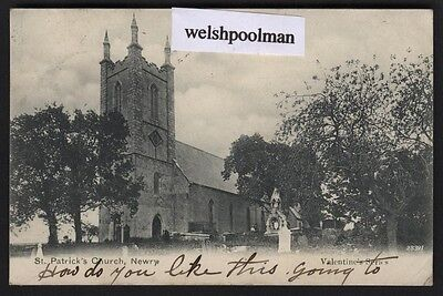 Antique 1905 St Patrick's Church Newry County Down / Armagh Northern Ireland