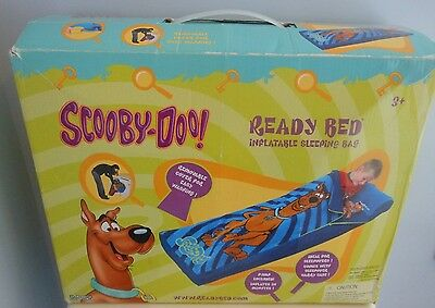 Scooby-Doo Kids Readybed Inflatable Bed Sleepover Camping Includes Pump Washable