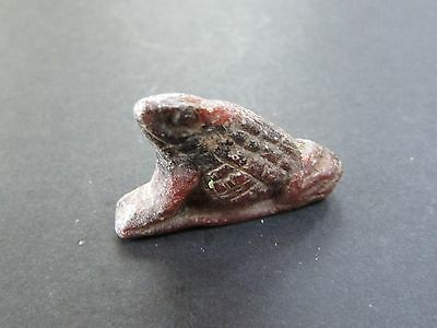 NILE  Ancient Egyptian Frog Amulet ca 1000 BC