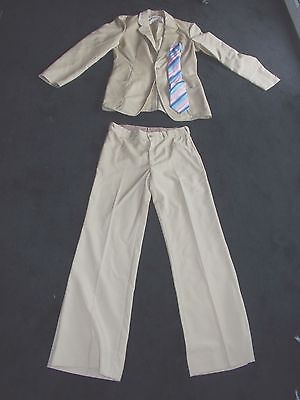 Mens Vntge 60S-70S Suit Vgc Am Dram Northern Soul Disco Party Indie Grunge M