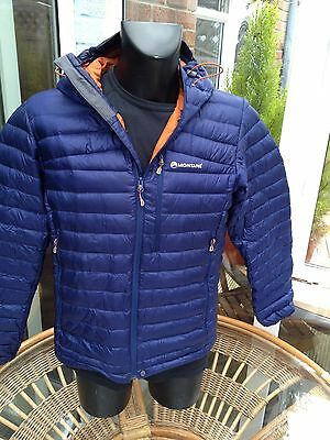 Montane Featherlite down filled packable jacket size large