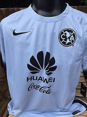 Nike Club America Away Football Shirt Jersey Size Large Mexico Rare 3rd Kit New