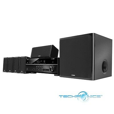 Yamaha Yht-5920Ubl 5.1-Channel 4K Home Theater System With Hdcp2.2