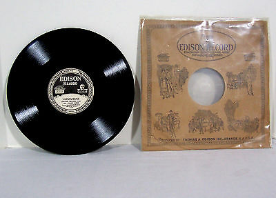 """Edison """"Special Record For Mr. Henry Ford"""" Diamond Disc """"Varsovienne"""" Record #15"""